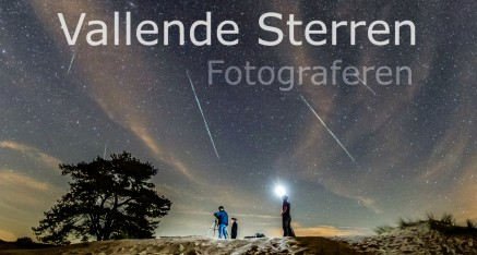 Hoe fotografeer je vallende sterren.