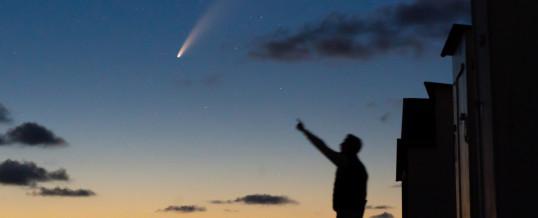 Een ode aan komeet NEOWISE!